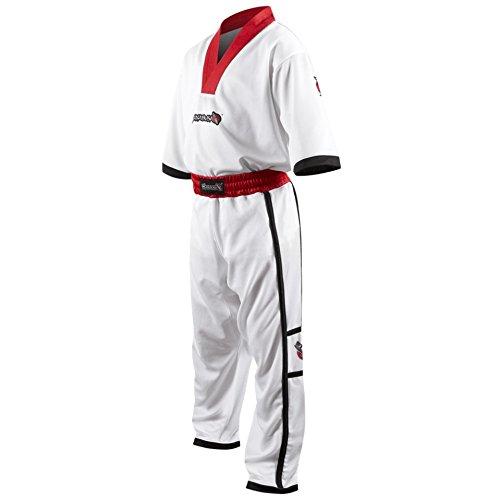 (Hayabusa Winged Strike Kids Karate Uniform, White, Extra Small)