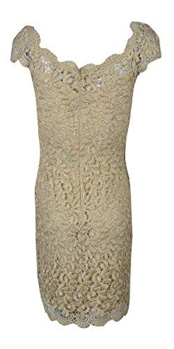 amp; Adam Dress Women's Beiges Cap Betsy Sleeve Lace PUxqwdPH4