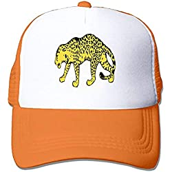 Cheetah Hunting-Leopard Cat Wild Tired Snap Back Trucker Hat Unisex