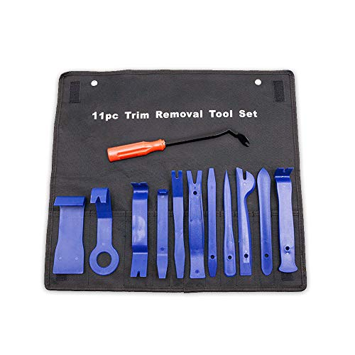 12PCS Auto Trim Removal Tool for Door Panel Removal Tools/with Storage Bag Blue
