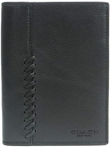 パスポートケース パスポートカバー メンズ レディース レザー ブラック 22538-blk [並行輸入品]