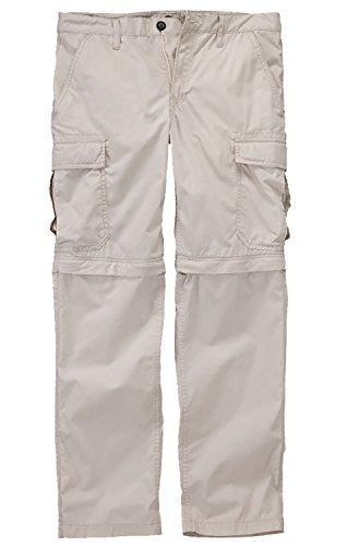 Timberland Men's Ivanhoe Lake Zip-OFF White Cargo Hiking Pants (34W x 32L)
