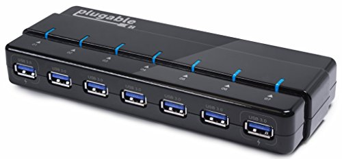 Plugable port USB 3 0 hub product image