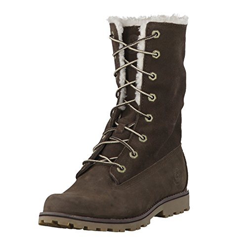 Timberland Kinder Boots 6 in WP Shearling BO Brown 34