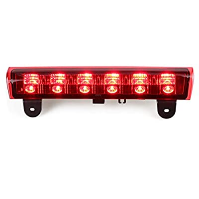 High Mount LED Third Brake Light Rear Roof Center Mount Stop Tail Lamp for 2000-2006 Chevrolet Suburban 1500/2500 2000-2006 Chevrolet Tahoe (Red Lens): Automotive