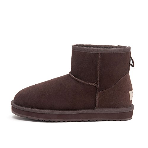 Ankle Coffee 5854 Classic Warm CCE Women's Sheepskin Boots Winter vR8wXq0T