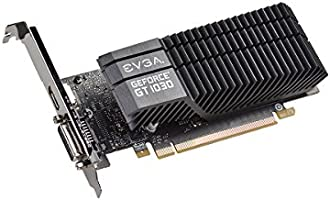 EVGA GeForce GT 1030 SC de 2GB GDDR5 pasiva tarjeta Grafica (de ...