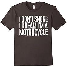 I Don 't Snore I Dream I' m un motocicleta playera gracioso regalo