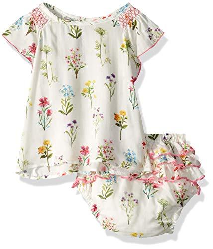 Hatley Baby Girls Mini Bloomer Sets, Enchanted Garden, 3-6 Months (Hatley Summer Garden)
