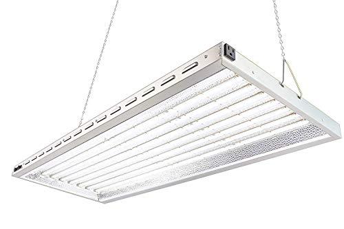 Durolux DLED8048W 320W LED Grow Light - Over 50% EnergySaving! (4x1.5 Foot | 200W, White | FullSun Seed & Veg) ()