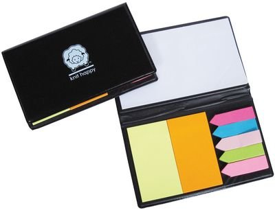 Knit Happy Sticky Note Organizer-Black: Amazon.es: Hogar