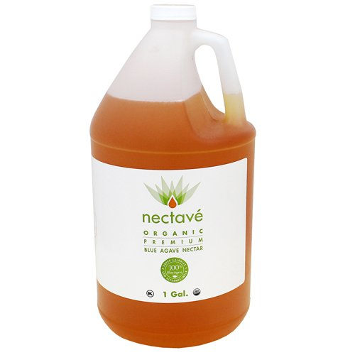 Nectave - Raw Organic Agave Nectar - 1 gal (Pack of 4) by Nectave