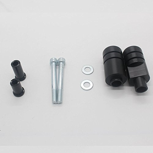 Amazon.com: VBROS New Black No Cut Frame Sliders Crash Protector For Suzuki GSXR 1000 2005-2006: Automotive