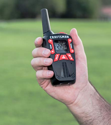 Craftsman CMXZRAZF333 Walkie Talkies Two-Way Business Radios (Pair) by Craftsman (Image #11)