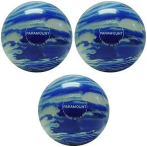 EPCO Candlepin Bowling ball- Marbleized – ブルー&ホワイトトリプルボール  4 1/2 inch- 2lbs. 7oz.
