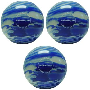 EPCO-Duckpin-Bowling-Ball-3-Marbleized-Blue-White-Balls