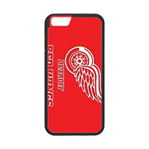 Sports detroit red wings iPhone 6 4.7 Inch Cell Phone Case Black DIY Ornaments xxy002-9213367