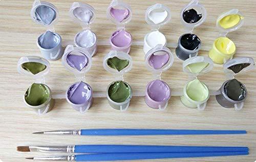 colore S Tela Dimensione 40 Del G Q Olio Numero Della Decorazione A Diy 50cm Corredo 50cm Pittura Canapa 40 Casa Variopinta Di Oqcpxa55wB