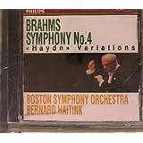 "Brahms Symphony, No. 4 - ""Haydn"" Variations"
