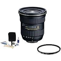Adorama Tokina 17-35mm F/4 AT-X Pro FX Lens for Nikon DSLR Camera, BUNDLE