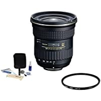 Tokina 17-35mm F/4 AT-X Pro FX Lens for Nikon DSLR Camera, BUNDLE
