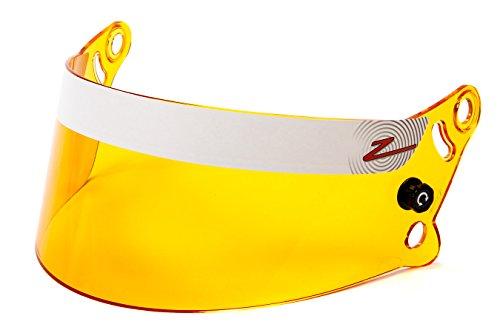 Series Helmet Shield - Zamp Men's Full-Face-Helmet-Style Z-20 Series Amber Shield (Amber, Medium)
