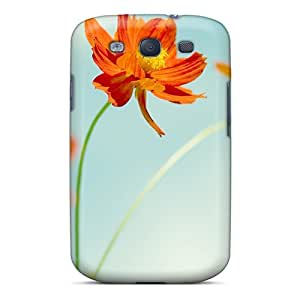Durable Protector Case Cover With Cosmos Flowers Hot Design For Galaxy S3