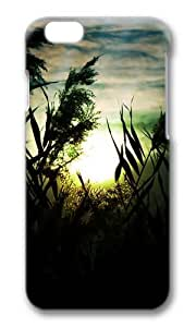 MOKSHOP Adorable Fascinating sunset scenery Hard Case Protective Shell Cell Phone Cover For Apple Iphone 6 Plus (5.5 Inch) - PC 3D