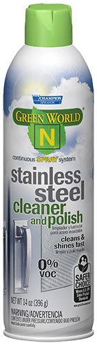Champion Sprayon Green Wolrd N Stainless Steel Cleaner(12 can)