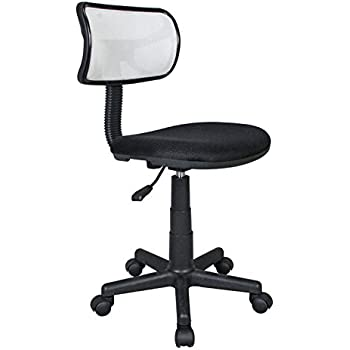 Student Mesh Task Office Chair. Color: White