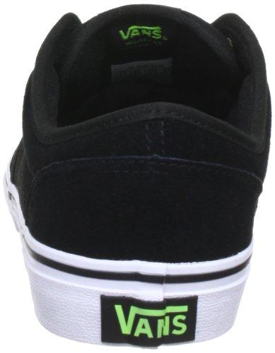 Vans Jungen Y Atwood Sneaker Schwarz ((Suede) black/n)