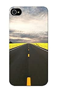 Goldenautumn High Quality Nature Highway Roads Case For Sam Sung Galaxy S4 I9500 Cover / Perfect Case For Lovers