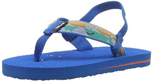 Teva Girls' T MUSH II Flip-Flop, Willy Blue, 10 M US Toddler