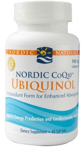 Северные CoQ10 Убихинол неприправленный Северной Naturals 60 капсула