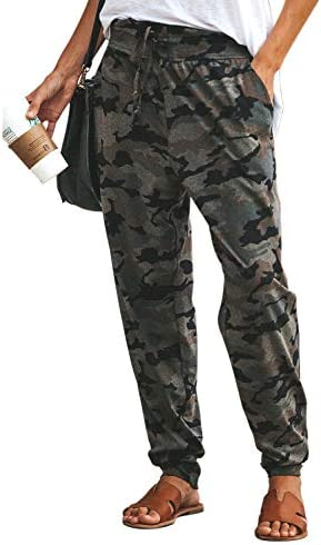 Eytino Drawstrings Sweatpants Camouflage Stretch product image