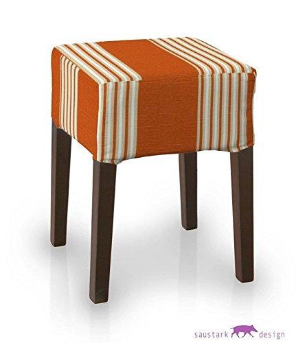 Saustark Design saustark design stockholm cover for ikea nils stool orange