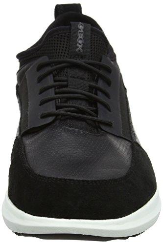 Basses U A black Sneakers Traccia Homme Noir Geox wPHxqZ7O7