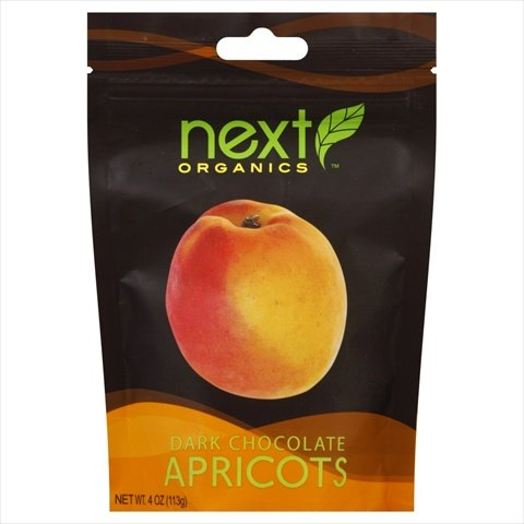 Dark Chocolate Apricots -Pack of 12 by Next Organics