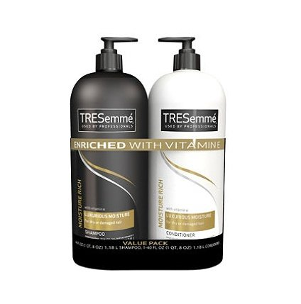 Tresemme Moisture Rich Luxurious Shampoo   Conditioner Value Pack 2 40 Oz