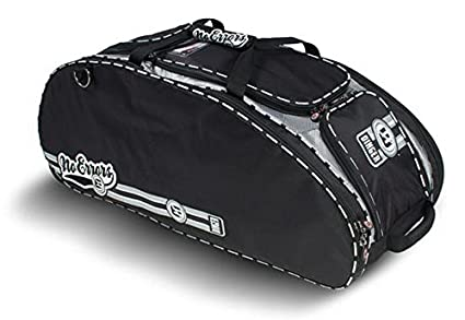 9f4d53fe27b The Dinger Baseball Bat Bag - 15 Compartments for More Storage Than Other  Baseball Equipment Bags - Room for 4 Bats - Velcro Batting Glove Strip -  Hangs on ...