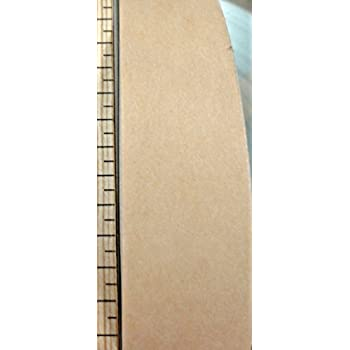 Paintable or stainable paper edgebanding 1-5/8