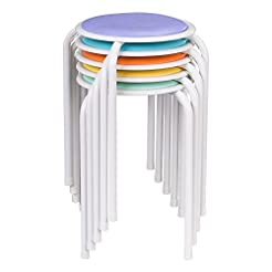 Fat Catalog Assorted Color Metal Stack S...