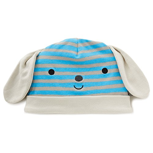 , Blue Striped Puppy (Hallmark Beanie)