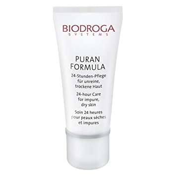 Biodroga 24 Hour Care, for Impure Dry Skin, Puran Formula 1.7 oz