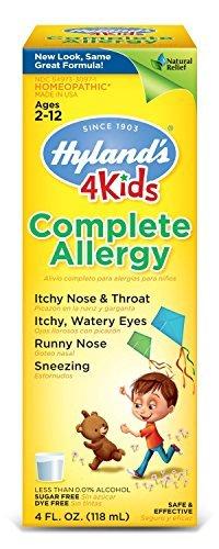 Complete Allergy Medication (Hyland's Complete Allergy 4 Kids 4 oz 2 Pack)