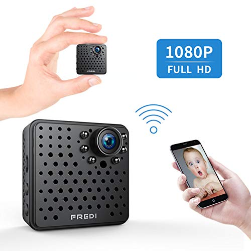 FREDI Wifi Mini Hidden Wireless Spy ip camera 1080p HD Security...