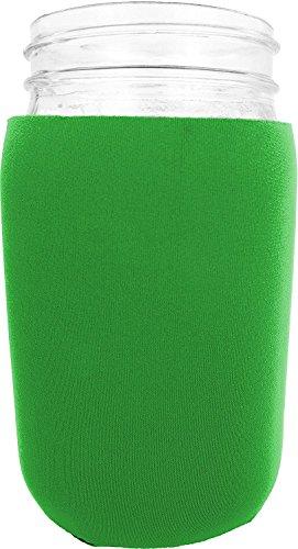 jar-Z Mason Jar Jacket, 32 oz, Green
