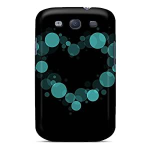 Cute Appearance Cover/tpu KhewIgH5155SkasQ Love Spots Case For Galaxy S3