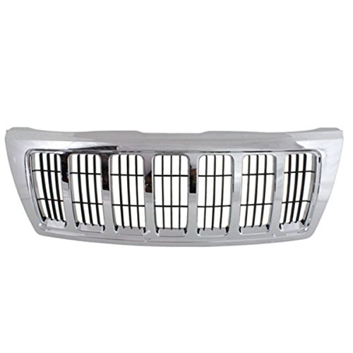 jeep cherokee chrome grill - 2