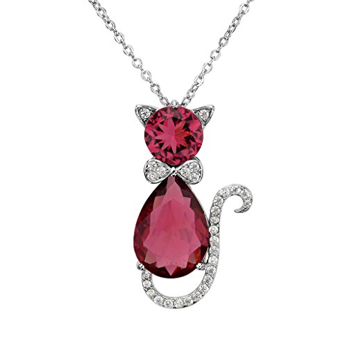 EleQueen-925-Sterling-Silver-Cubic-Zirconia-Cute-Kitty-Cat-Rolo-Chain-Pendant-Necklace